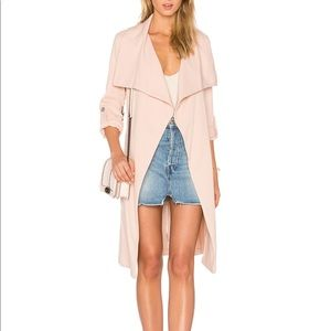 Ornella Trench Coat in Rose by Soia & Kyo